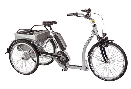 Elektrofahrrad mit Erfahrung - Dreirad silber elektrisch