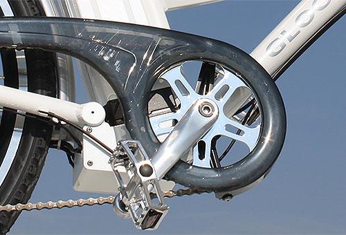 Elektrofahrrad mit Erfahrung - Citybike CEB01 Drehtkurbel mit Kettenschutz