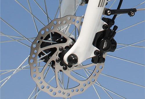 Elektrofahrrad mit Erfahrung - Citybike CEB01 Scheibenbremse