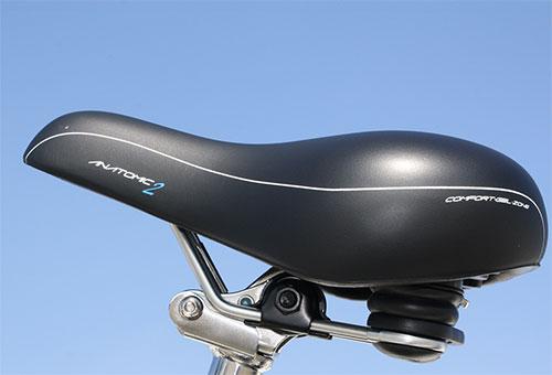 Elektrofahrrad mit Erfahrung - Citybike CEB01 klappbarer Gelsattel