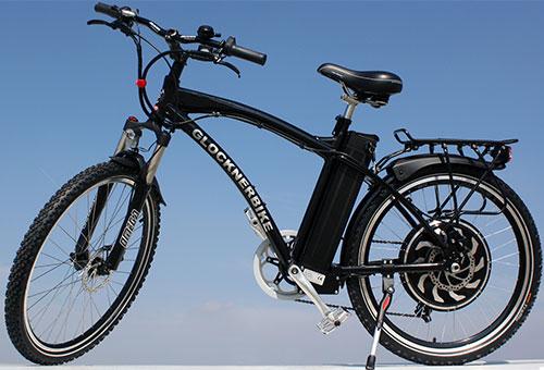 Elektrofahrrad mit Erfahrung - Mountainbike schwarz elektrisch