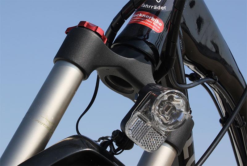 Elektrofahrrad mit Erfahrung - Mountainbike MEB01 Federgabel mit LED Licht