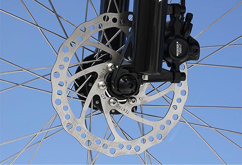 Elektrofahrrad mit Erfahrung - Mountainbike MEB01 Scheibenbremse