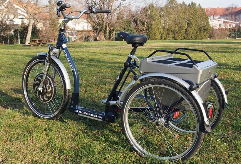Elektrofahrrad mit Erfahrung - Dreirad schwarz elektrisch